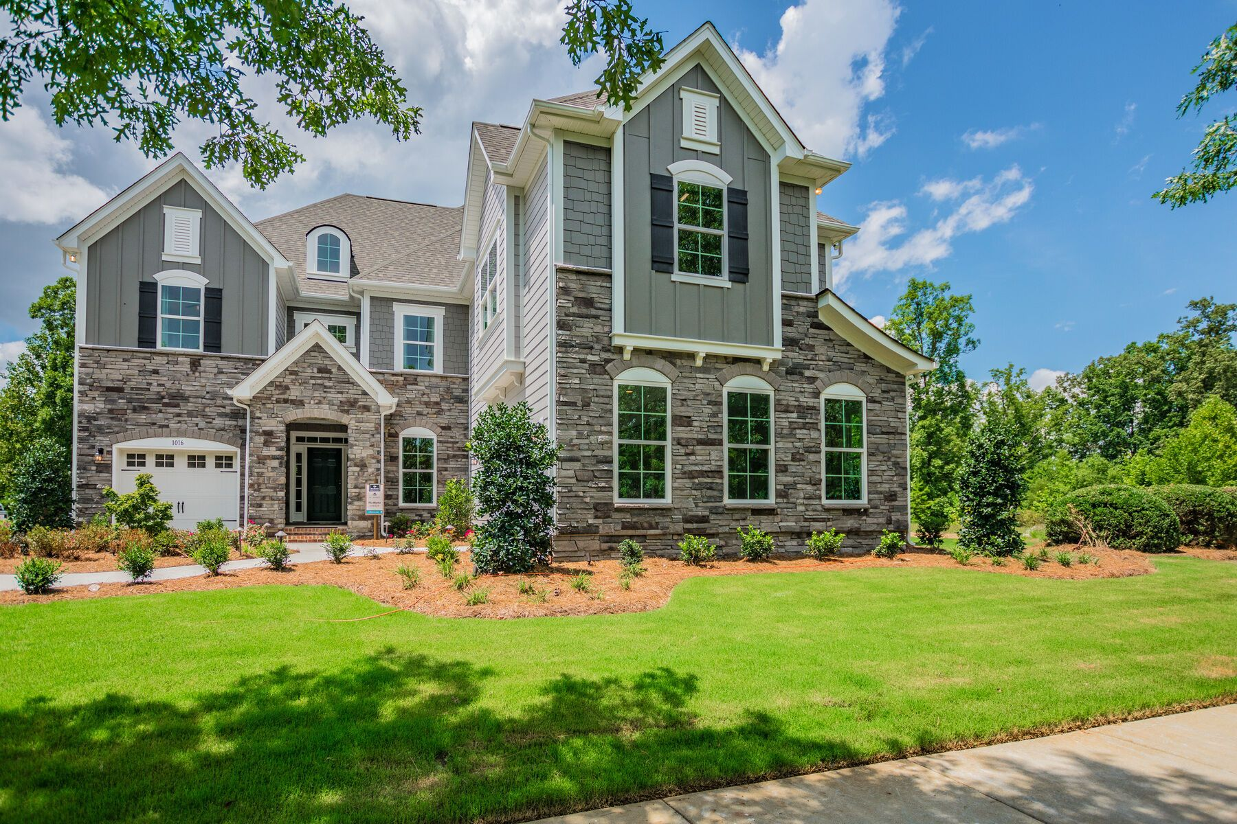Exterior featured in the Blythe By M/I Homes in Charlotte, NC