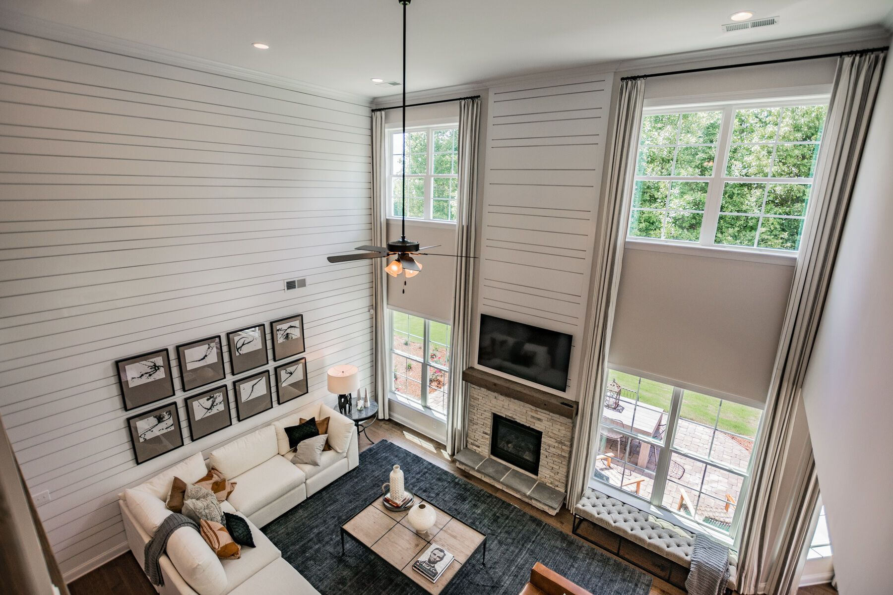 Living Area featured in the Blythe By M/I Homes in Charlotte, NC
