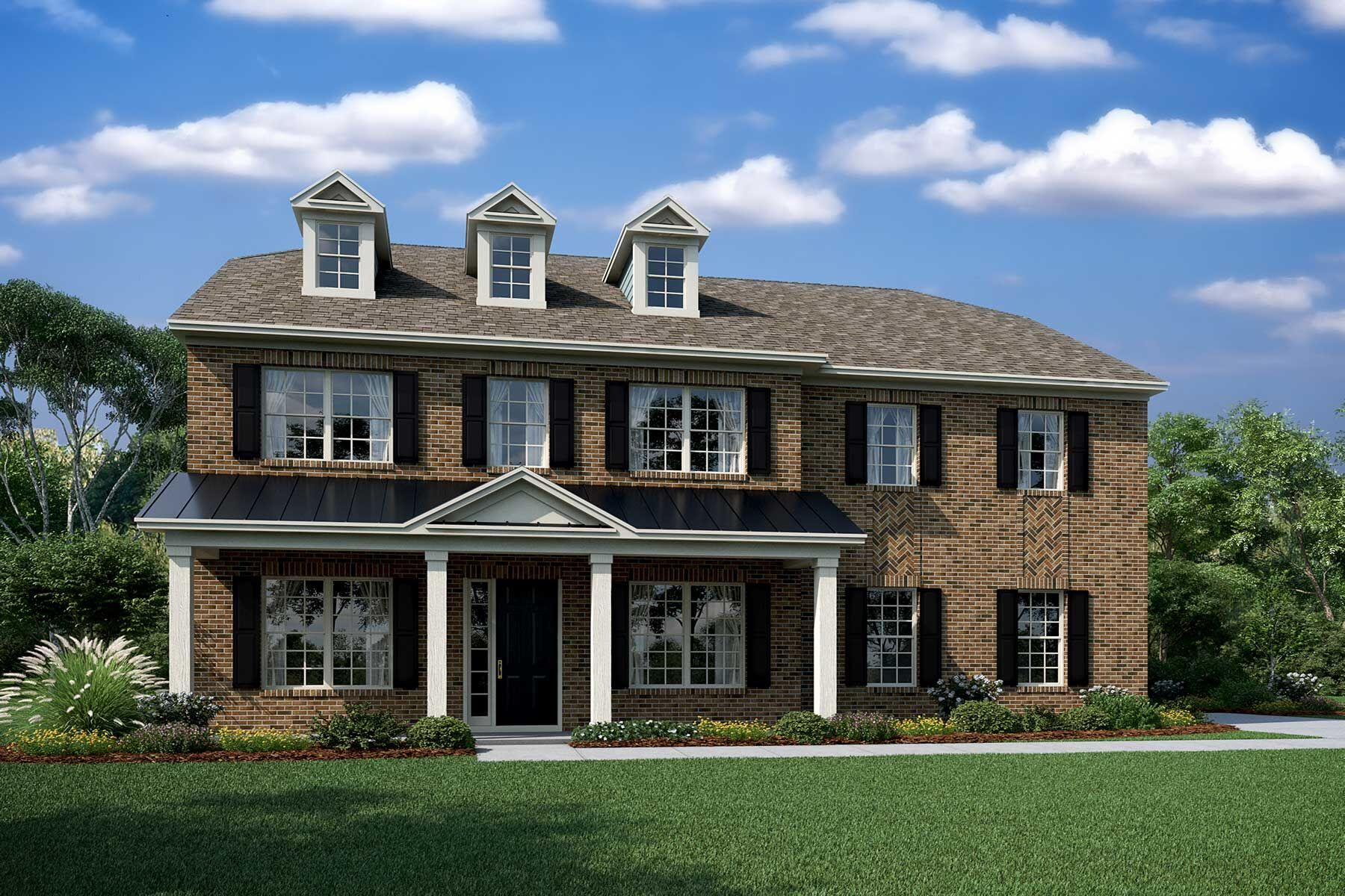 Exterior featured in the Brooksby II By M/I Homes in Charlotte, SC