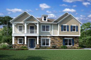 Dover II - Harlow's Crossing: Weddington, North Carolina - M/I Homes