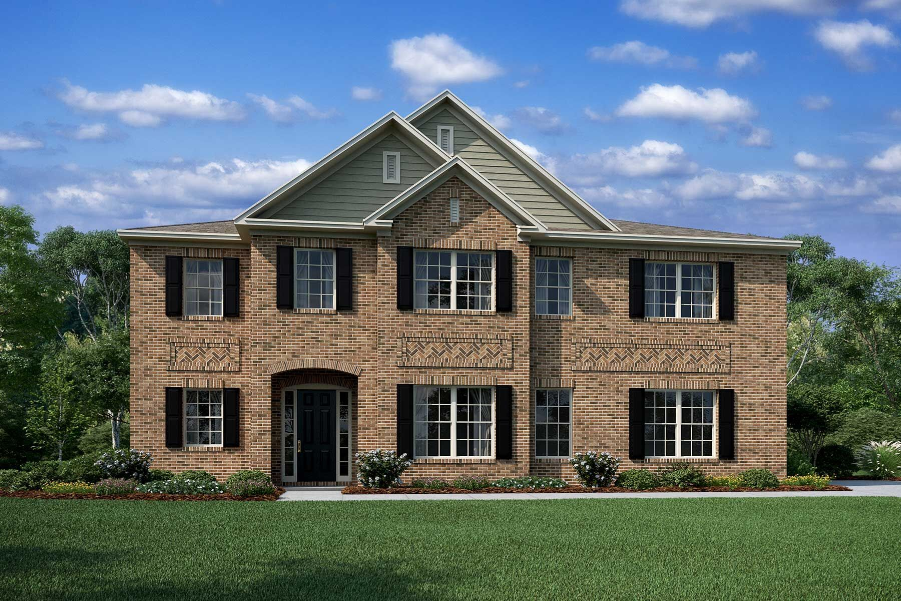 Exterior featured in the Dover II By M/I Homes in Charlotte, NC