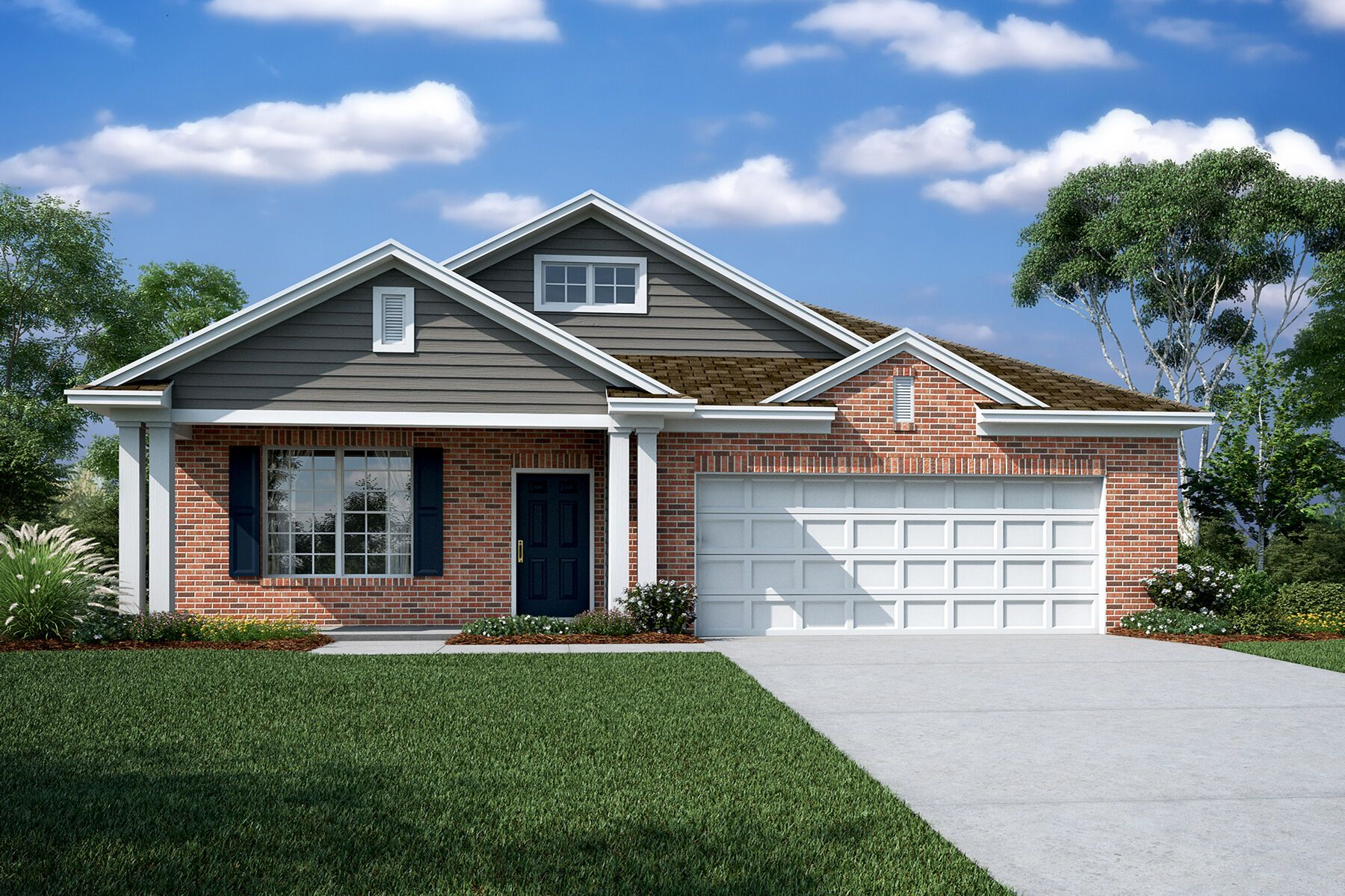 Exterior featured in the Deacon By M/I Homes in Charlotte, NC
