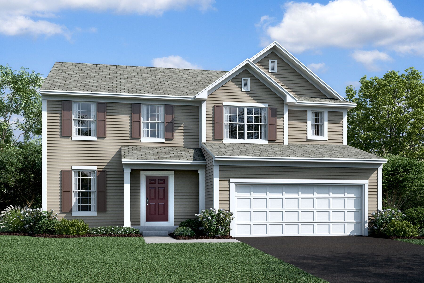 Exterior featured in the Dearborn By M/I Homes in Charlotte, NC
