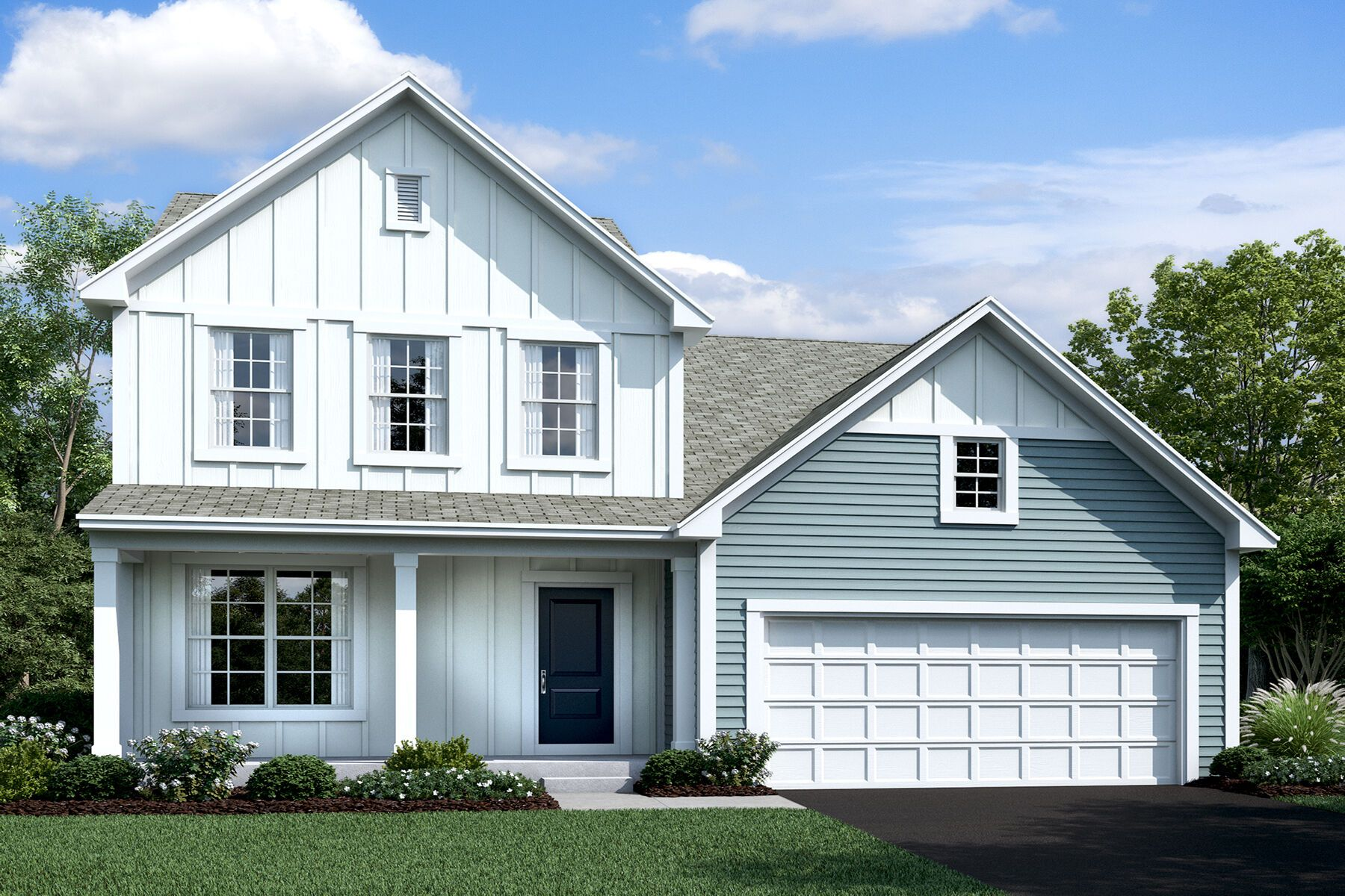 Exterior featured in the Erie By M/I Homes in Charlotte, NC