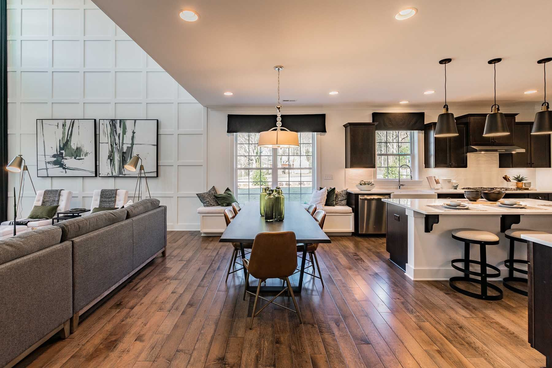 Kitchen featured in the Torrance II By M/I Homes in Charlotte, NC