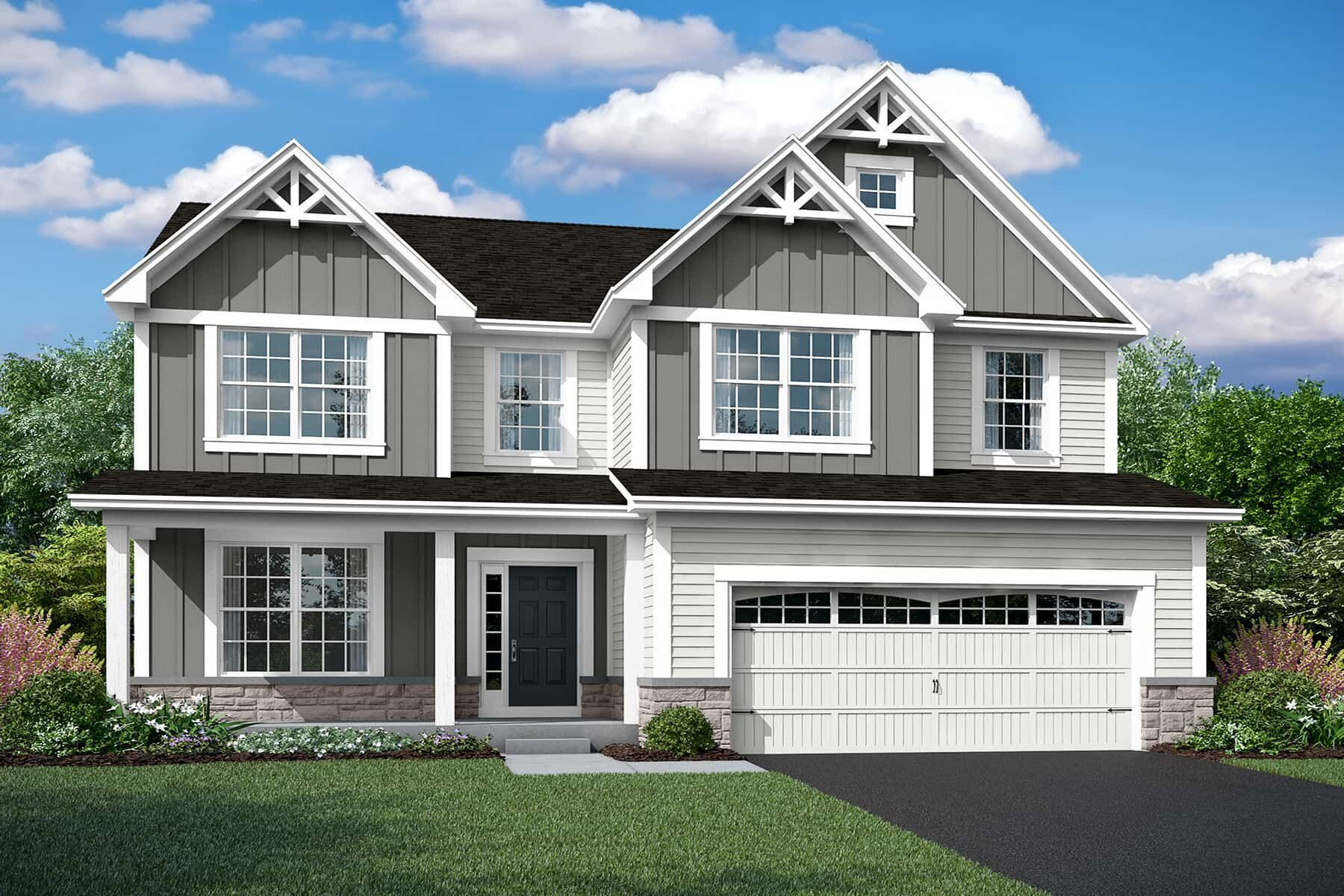 Exterior featured in the Eastman By M/I Homes in Chicago, IL