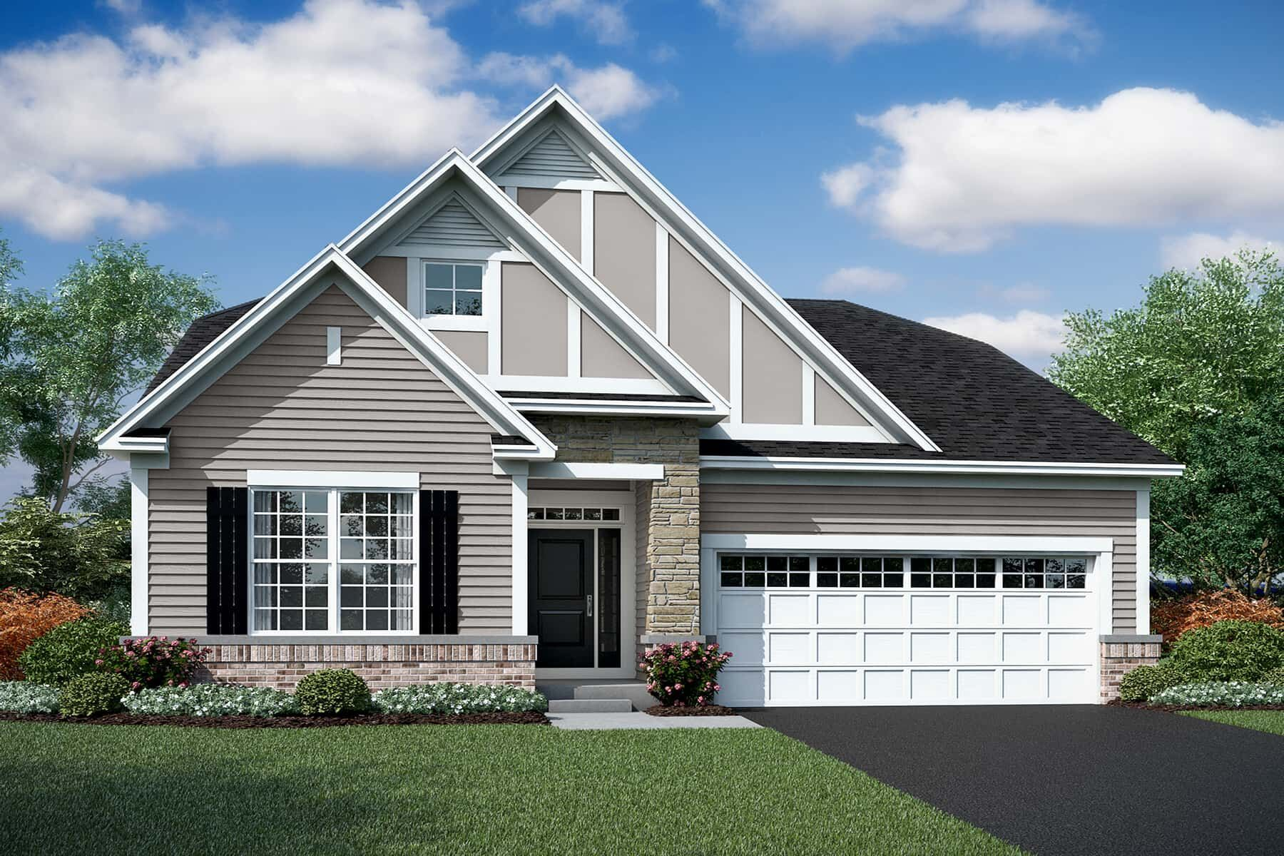 Exterior featured in the Austin By M/I Homes in Chicago, IL