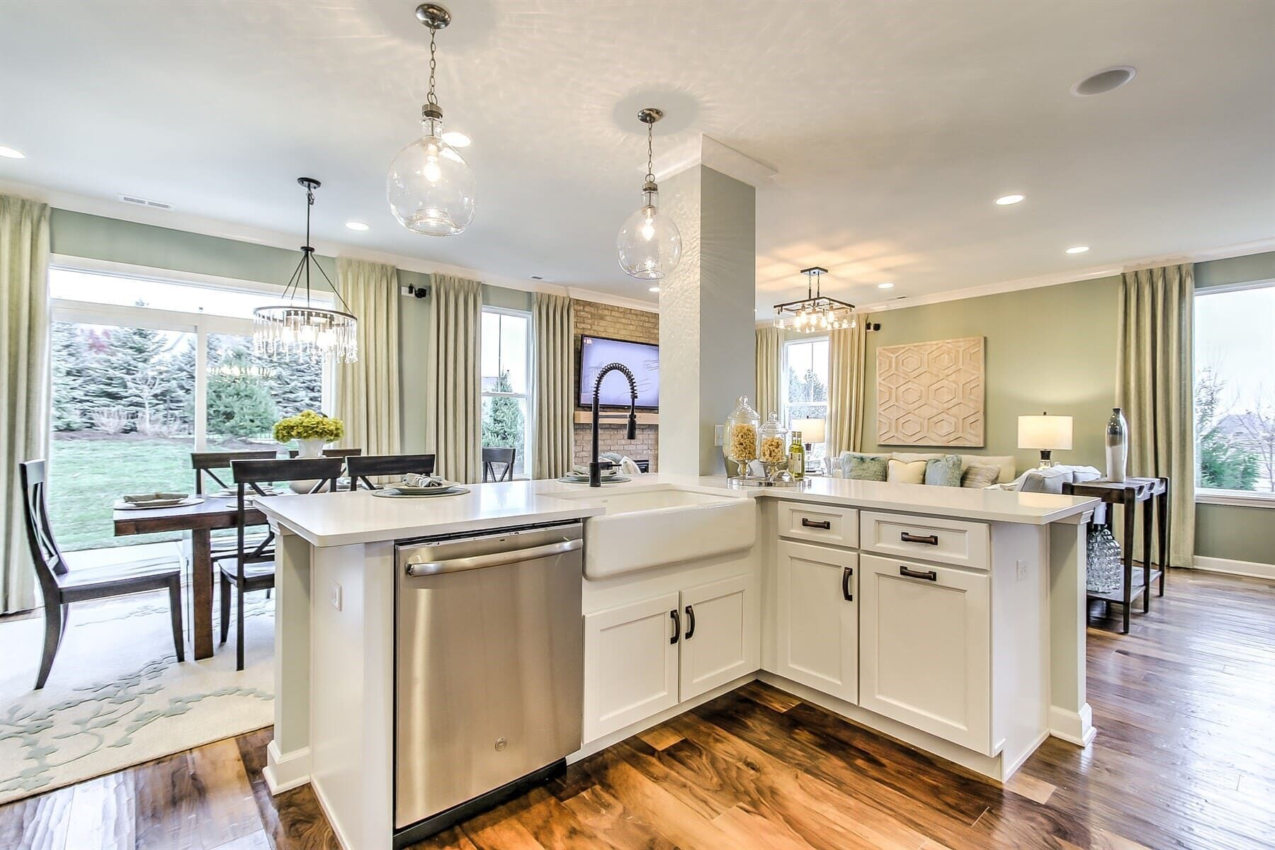 Kitchen featured in the Campbell By M/I Homes in Chicago, IL