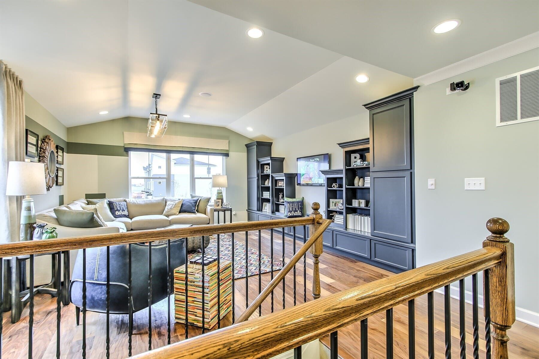 Living Area featured in the Campbell By M/I Homes in Chicago, IL