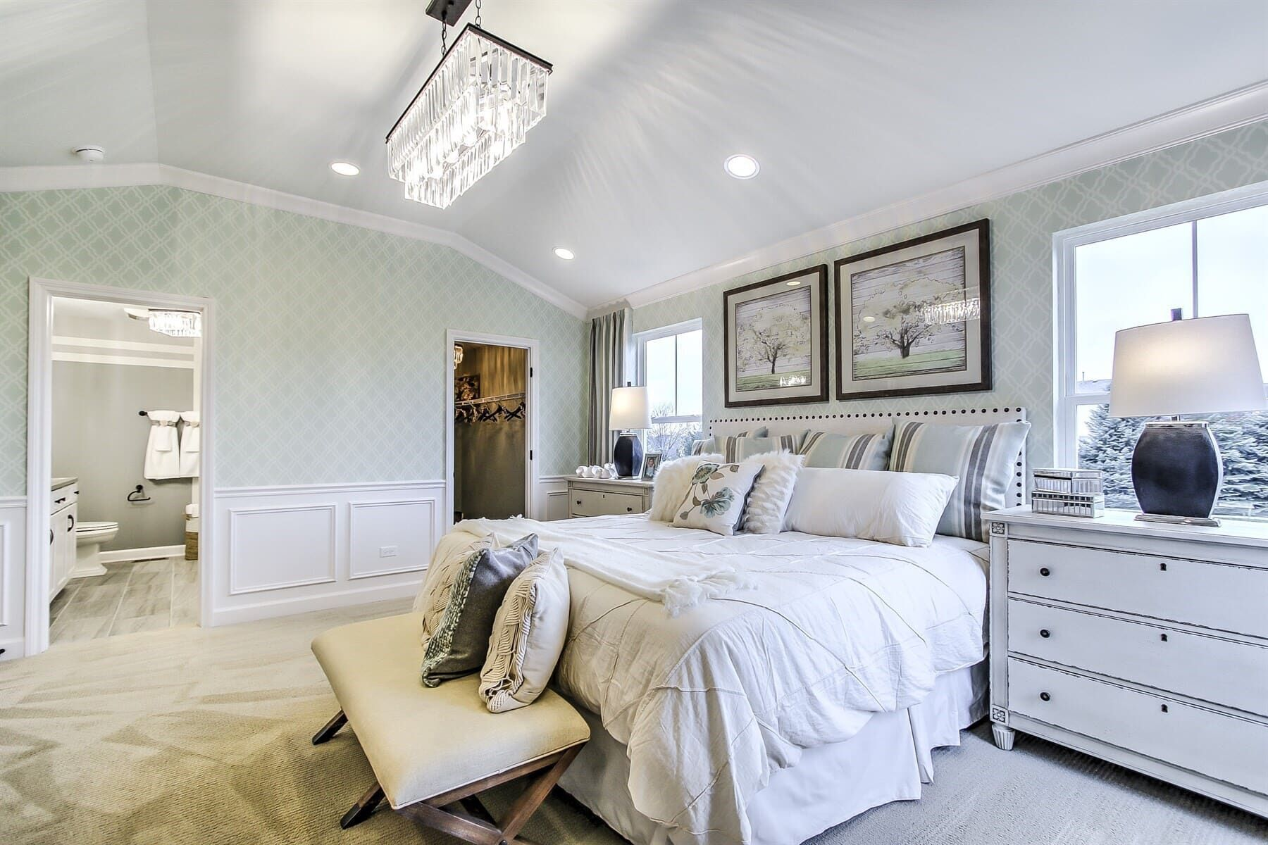 Bedroom featured in the Campbell By M/I Homes in Chicago, IL