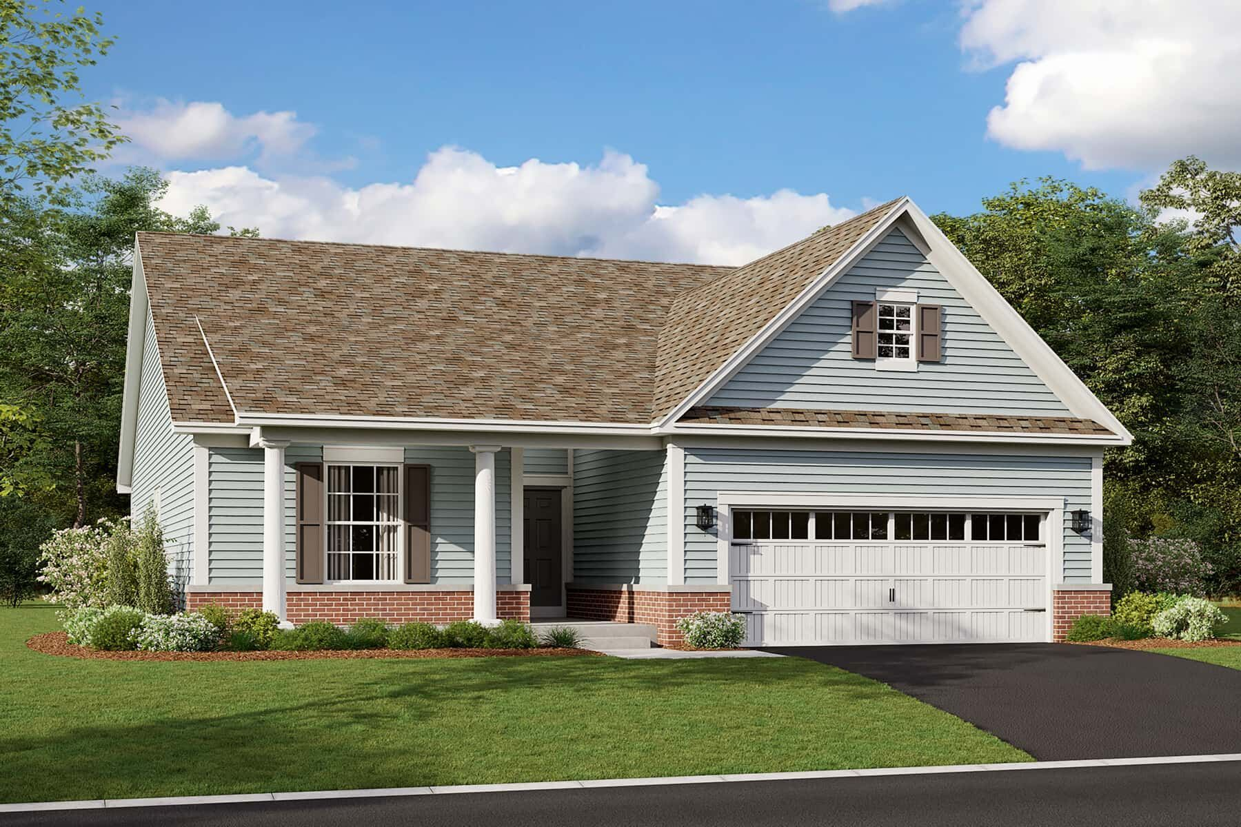 Exterior featured in the Briarwood By M/I Homes in Chicago, IL
