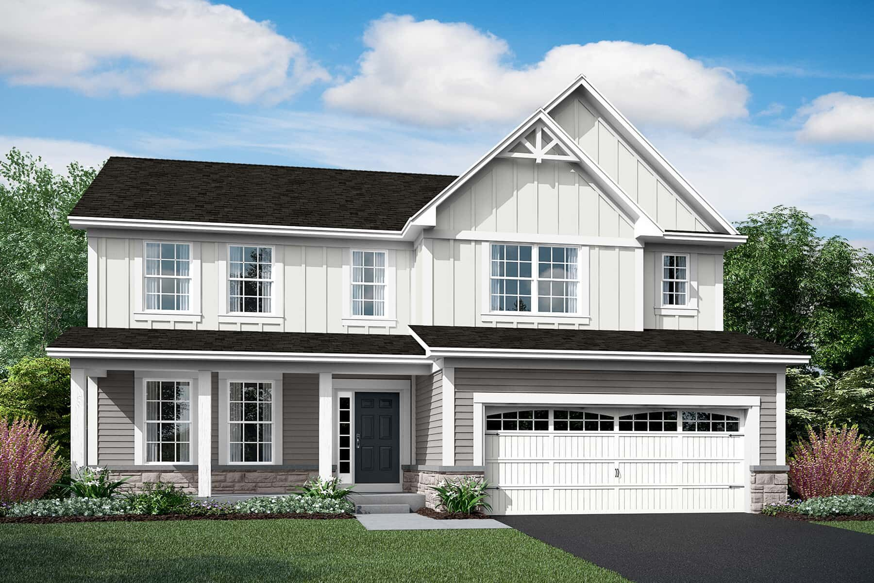 Exterior featured in the Cahill By M/I Homes in Chicago, IL