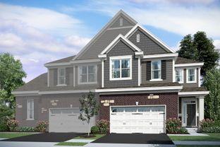 Danbury - The Townes of Westbury: Kildeer, Illinois - M/I Homes