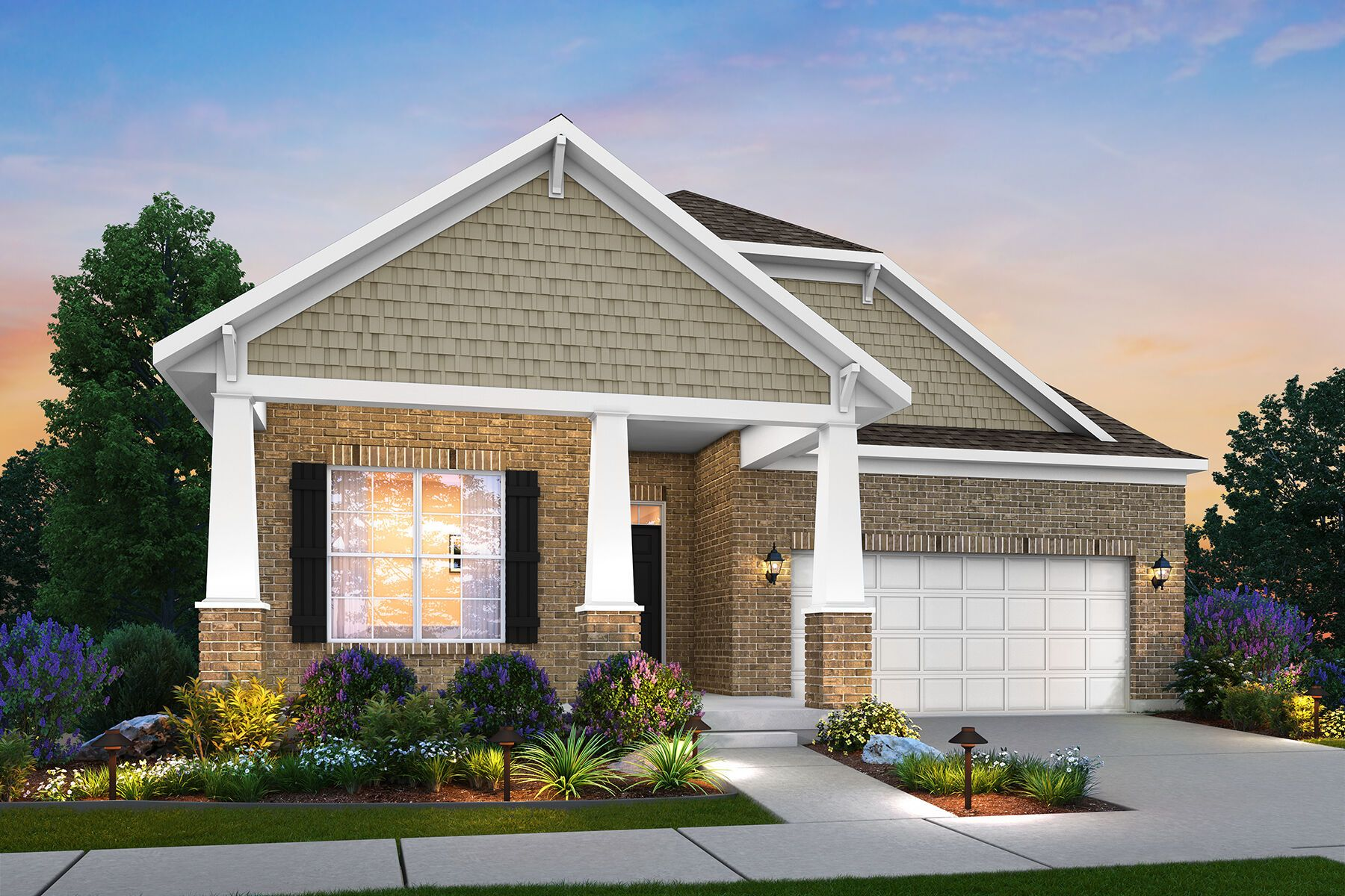 Exterior featured in the Faulkner By M/I Homes in Dayton-Springfield, OH
