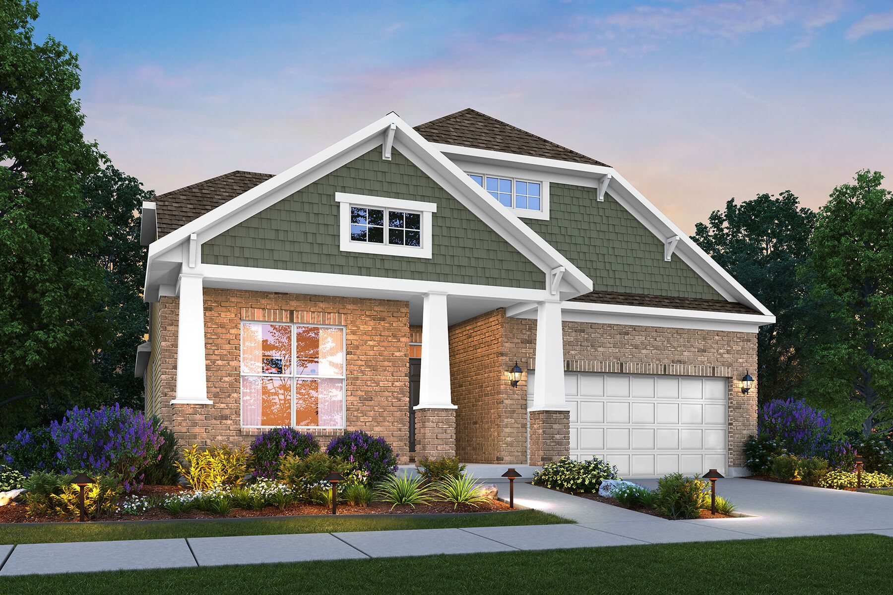 Exterior featured in the Melville By M/I Homes in Cincinnati, OH