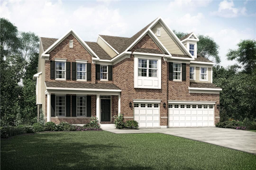 Exterior featured in the Monroe By M/I Homes in Cincinnati, OH