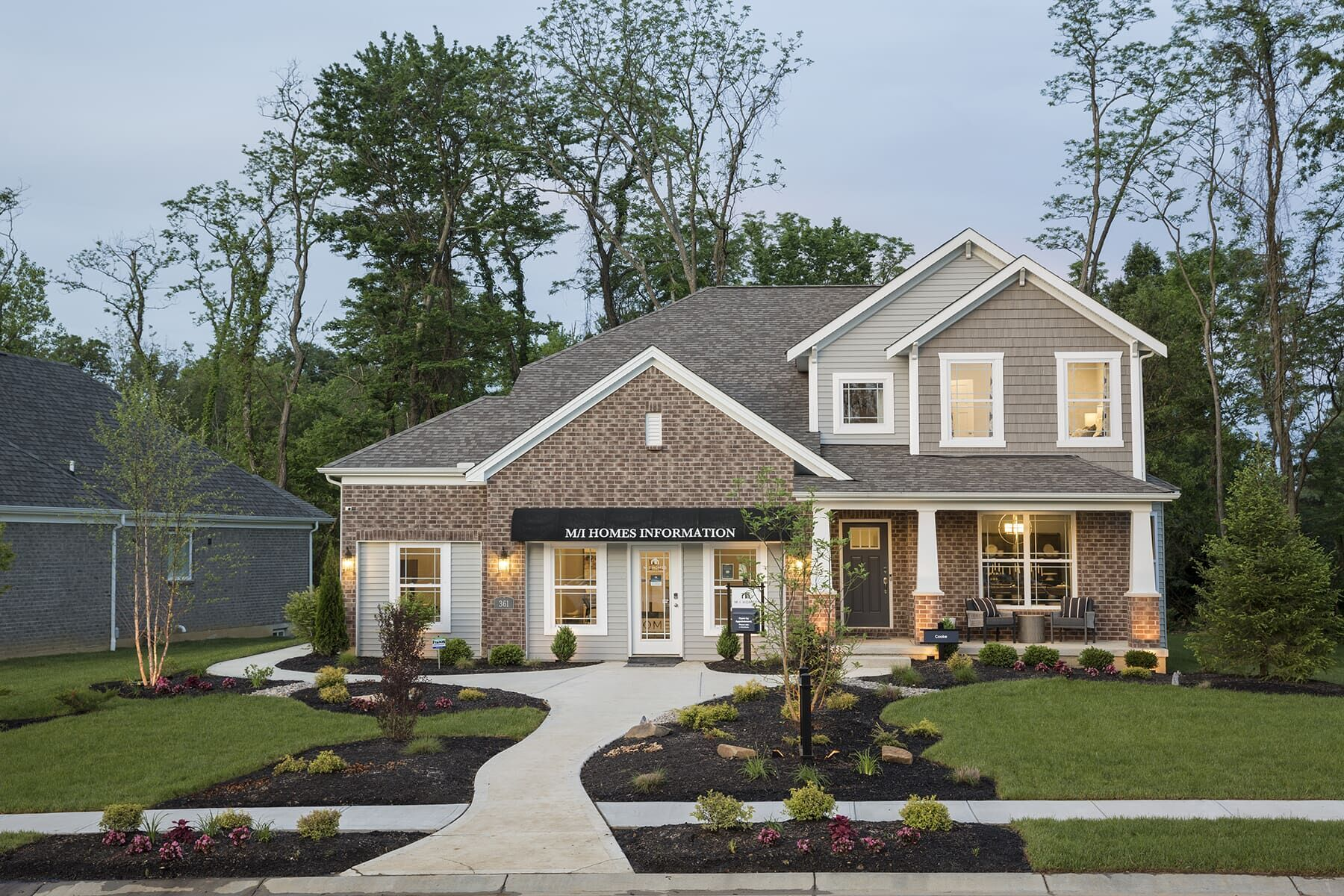 Exterior featured in the Cooke By M/I Homes in Cincinnati, OH