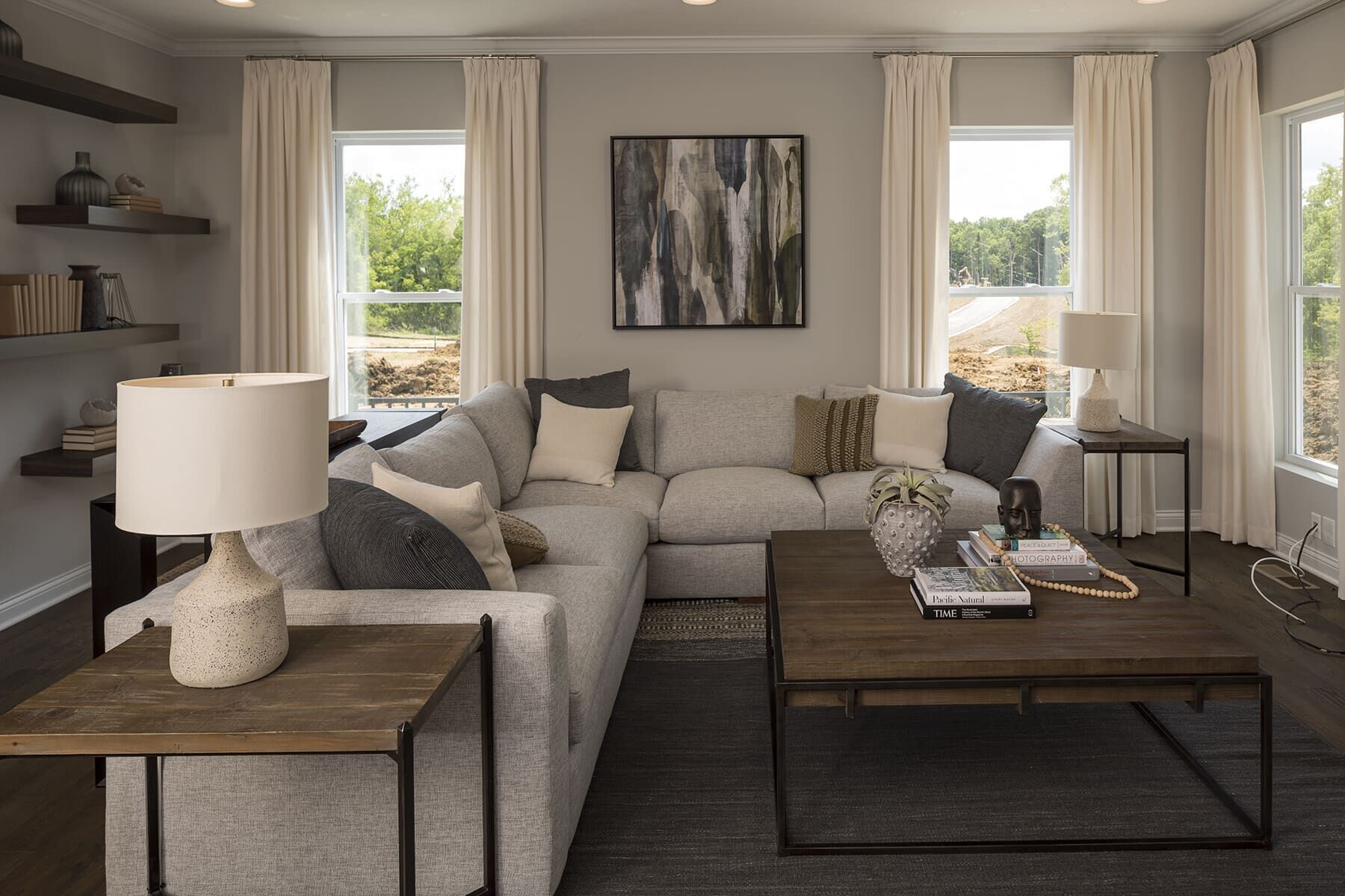 Living Area featured in the Cooke By M/I Homes in Cincinnati, OH
