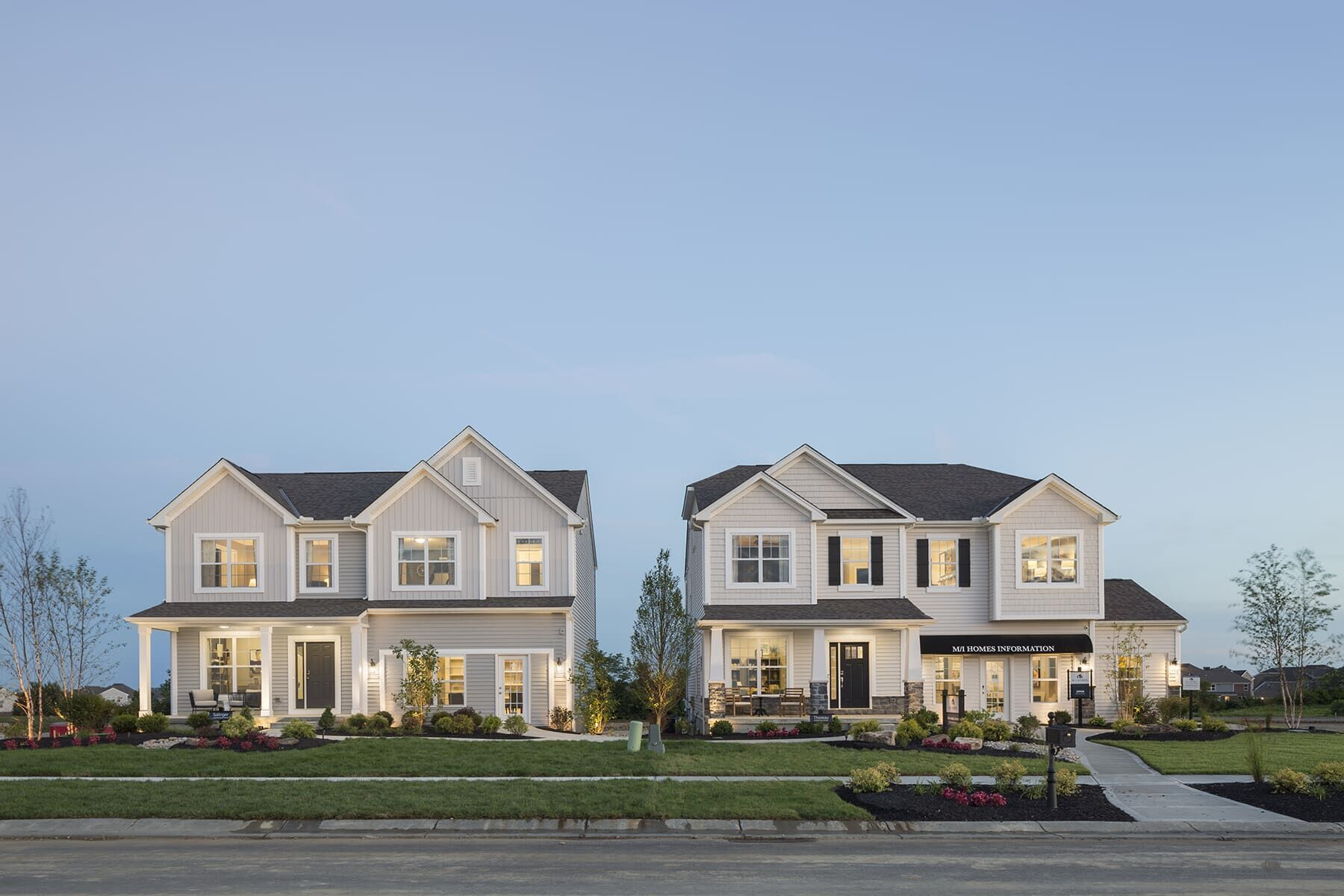 Exterior featured in the Salinger By M/I Homes in Cincinnati, OH