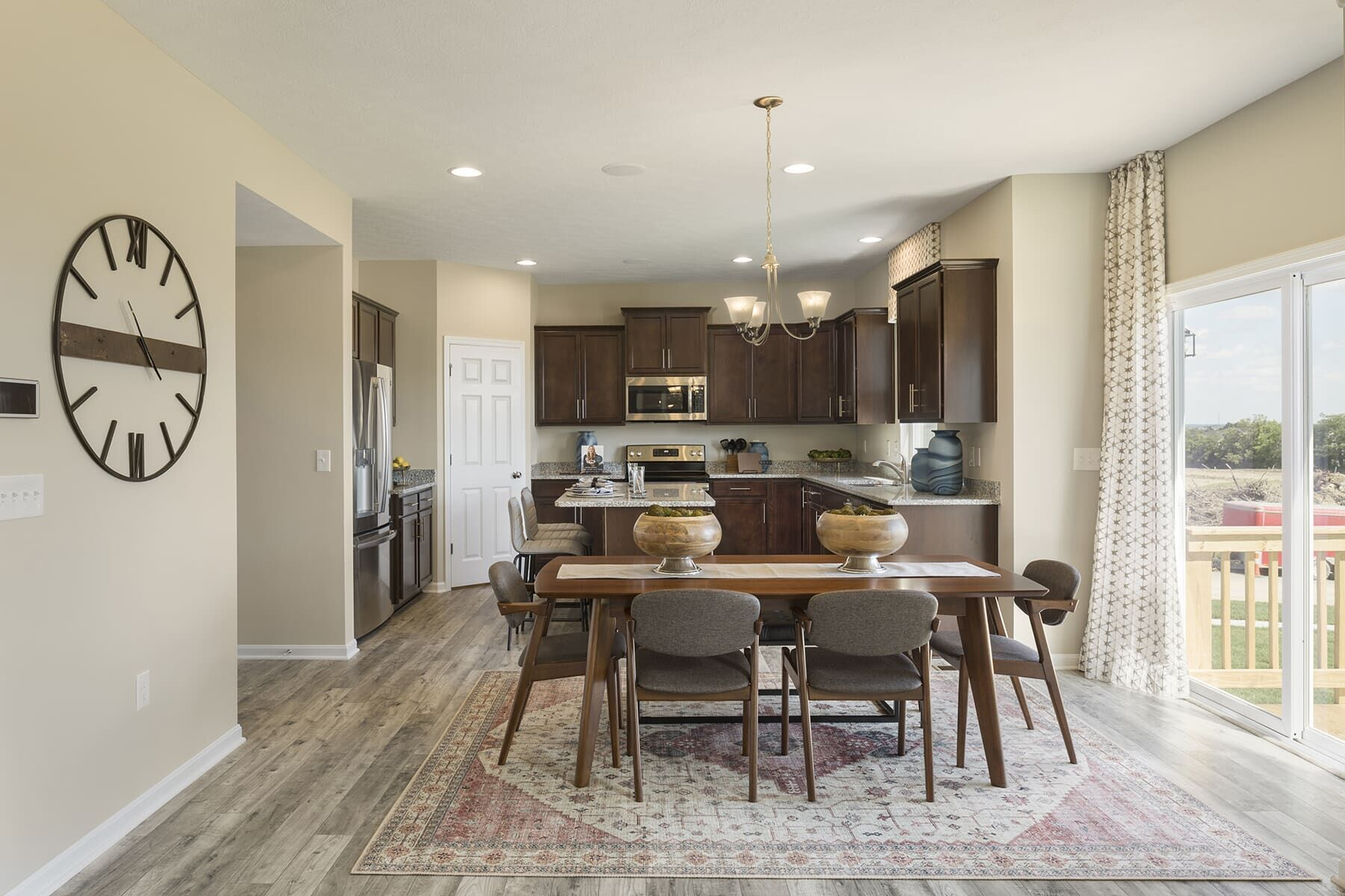 Kitchen featured in the Salinger By M/I Homes in Cincinnati, OH