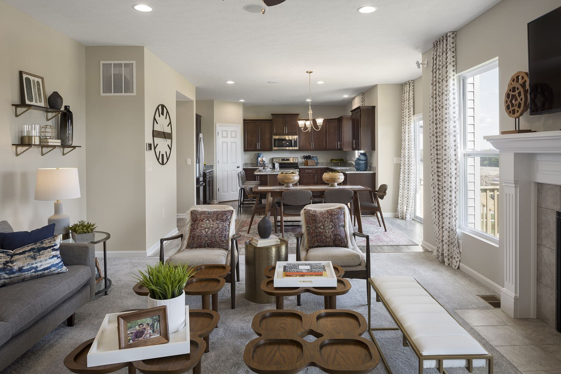Living Area featured in the Salinger By M/I Homes in Cincinnati, OH