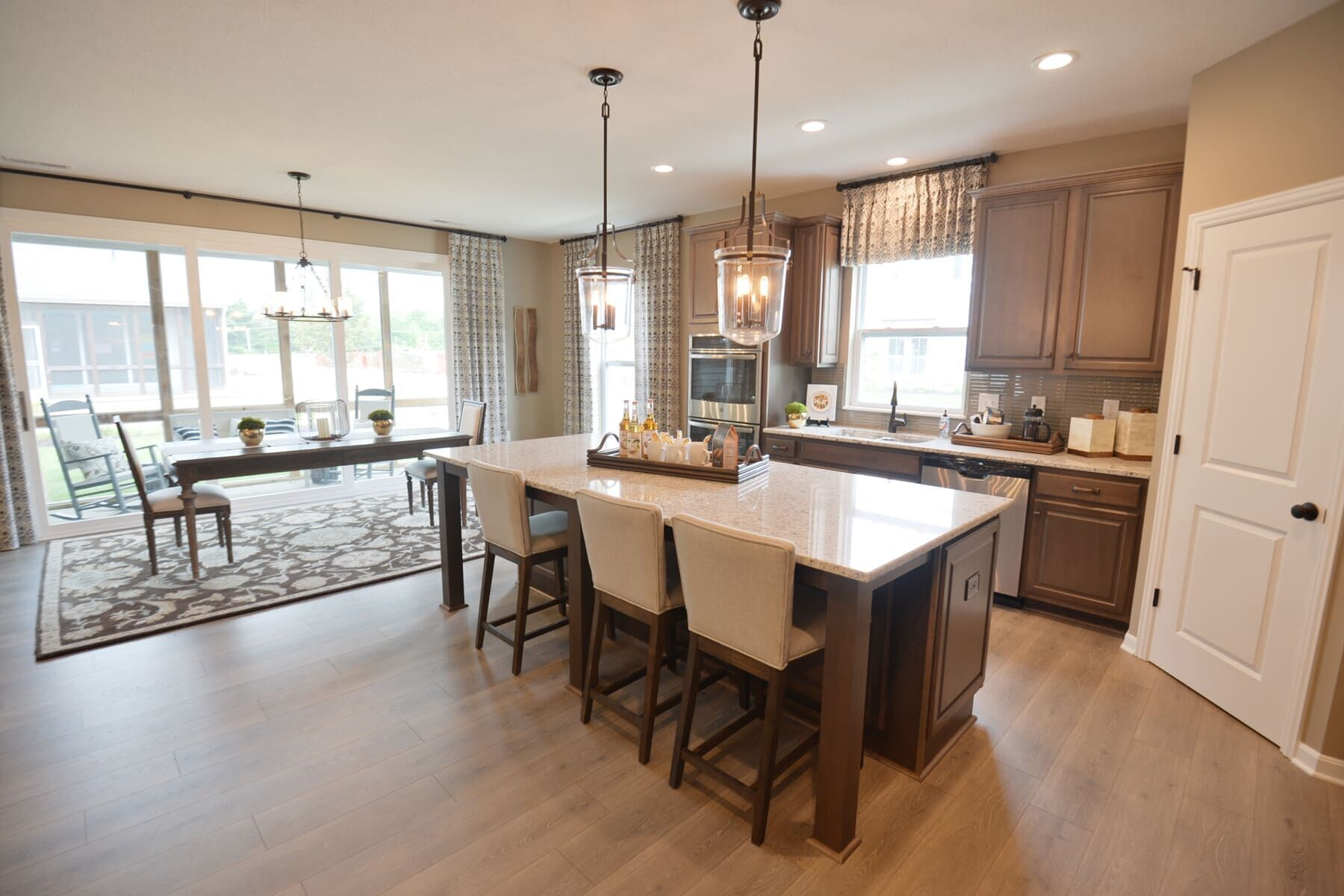 Kitchen featured in the Charleston By M/I Homes in Columbus, OH