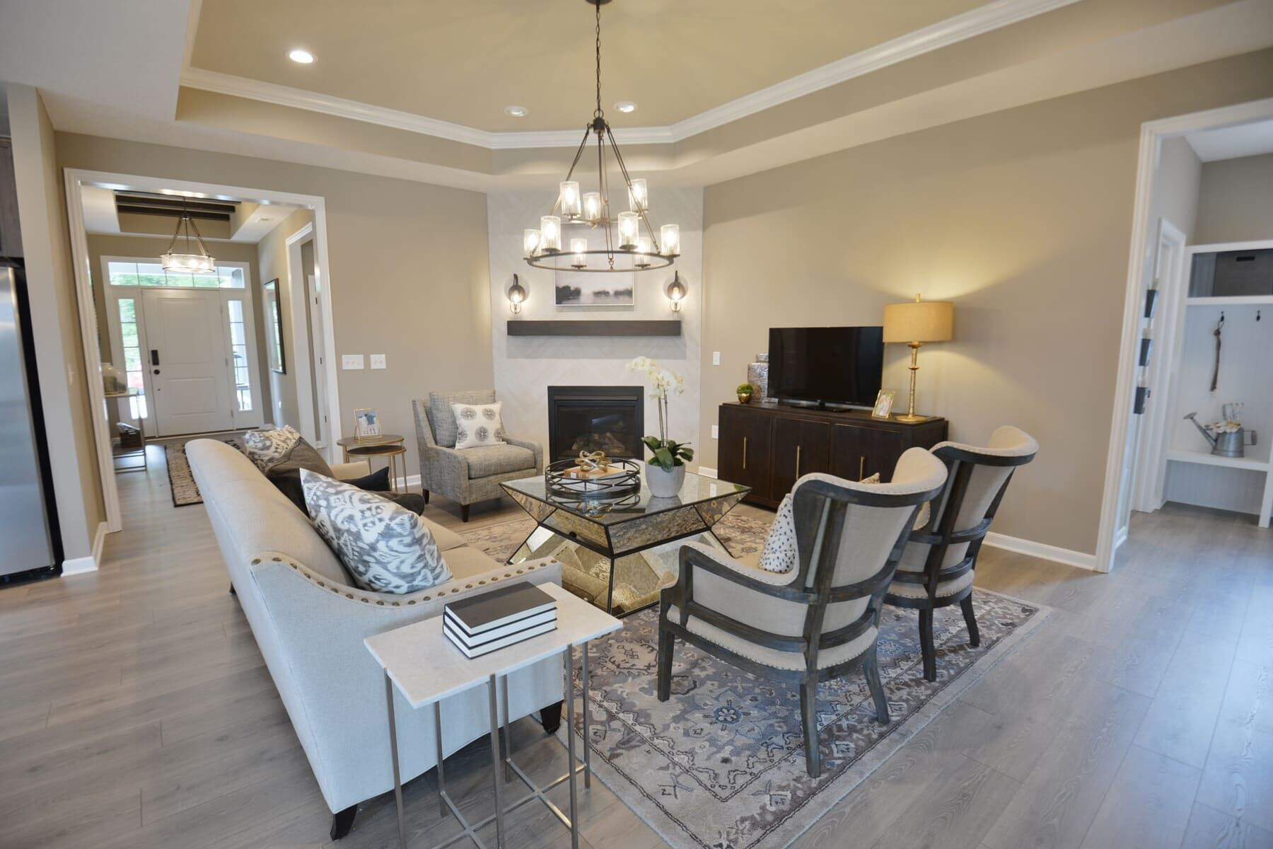 Living Area featured in the Charleston By M/I Homes in Columbus, OH