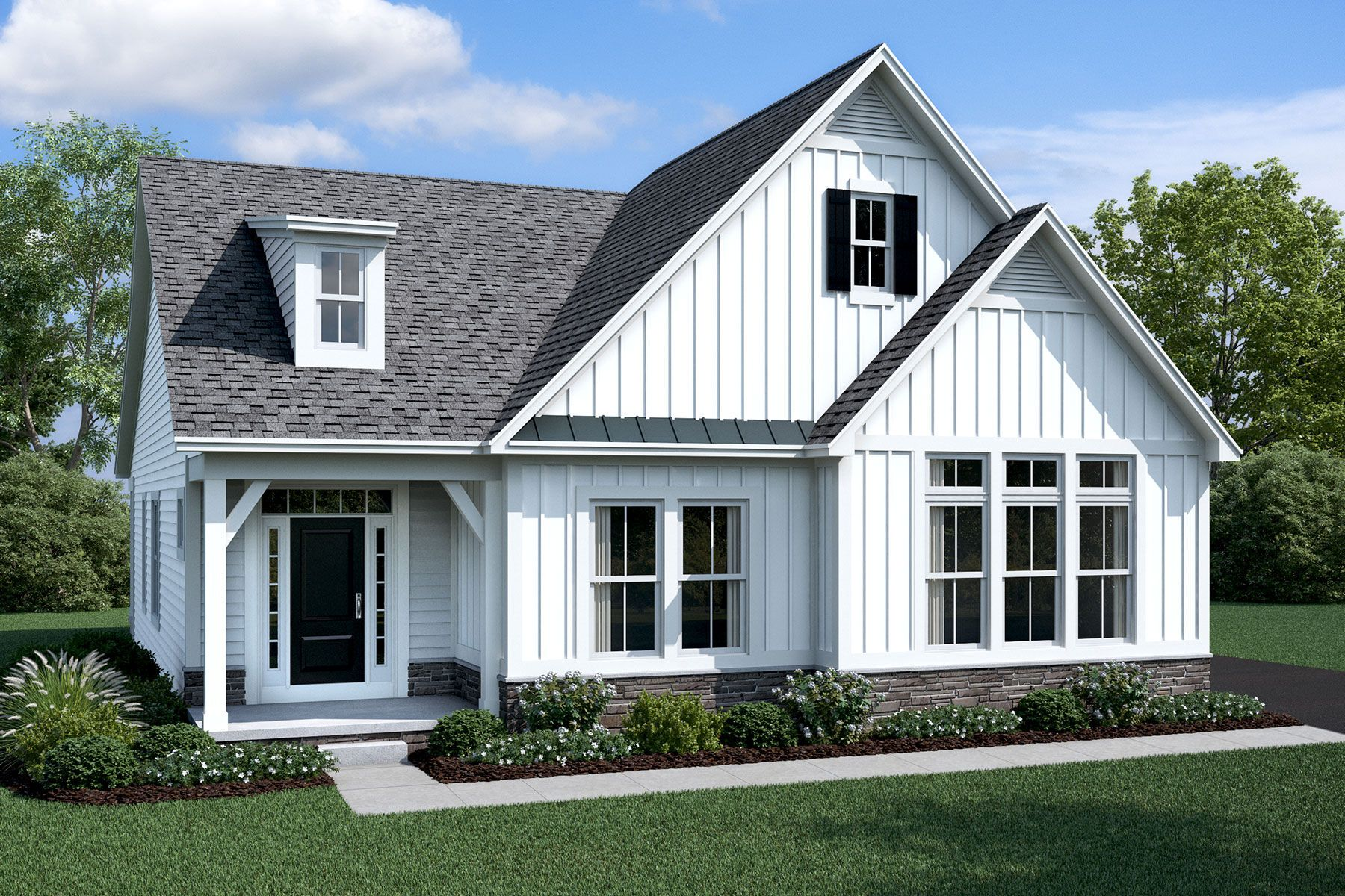 Exterior featured in the Durham By M/I Homes in Columbus, OH