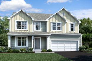Findlay - Homes at Foxfire: Lockbourne, Ohio - M/I Homes