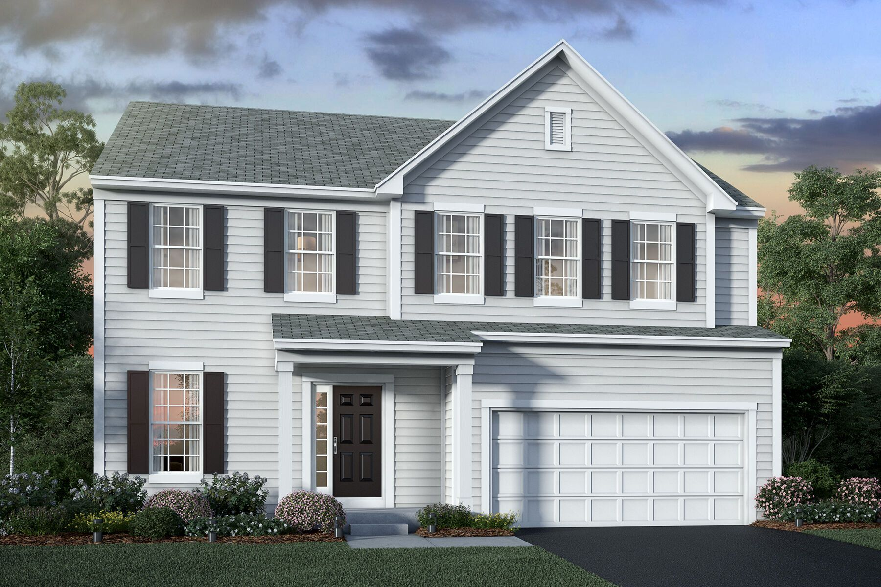 Exterior featured in the Findlay By M/I Homes in Columbus, OH