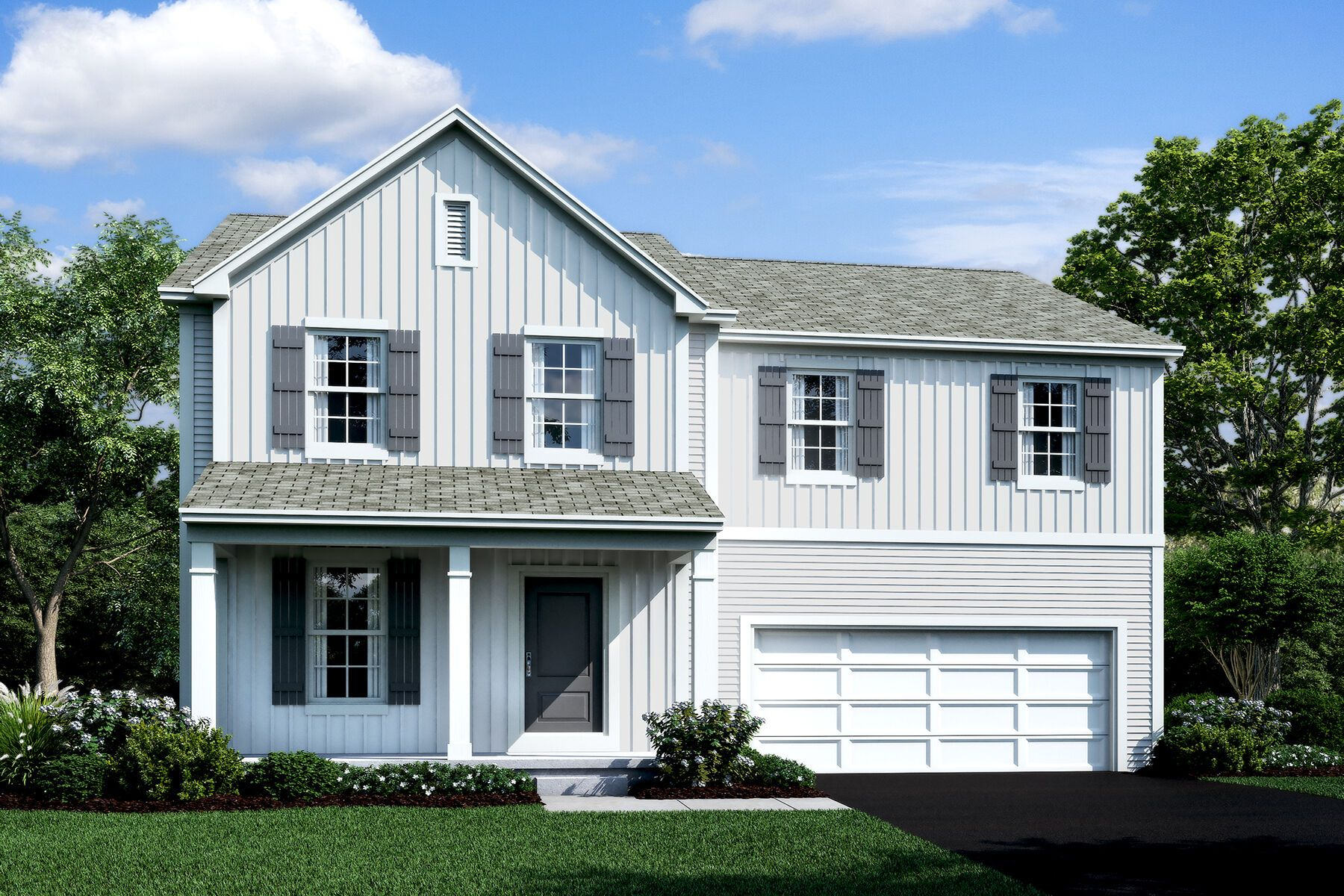 Exterior featured in the Granville By M/I Homes in Columbus, OH