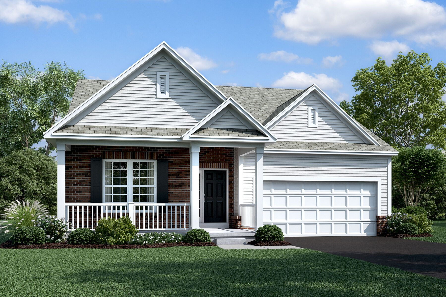 Exterior featured in the Riverside By M/I Homes in Columbus, OH