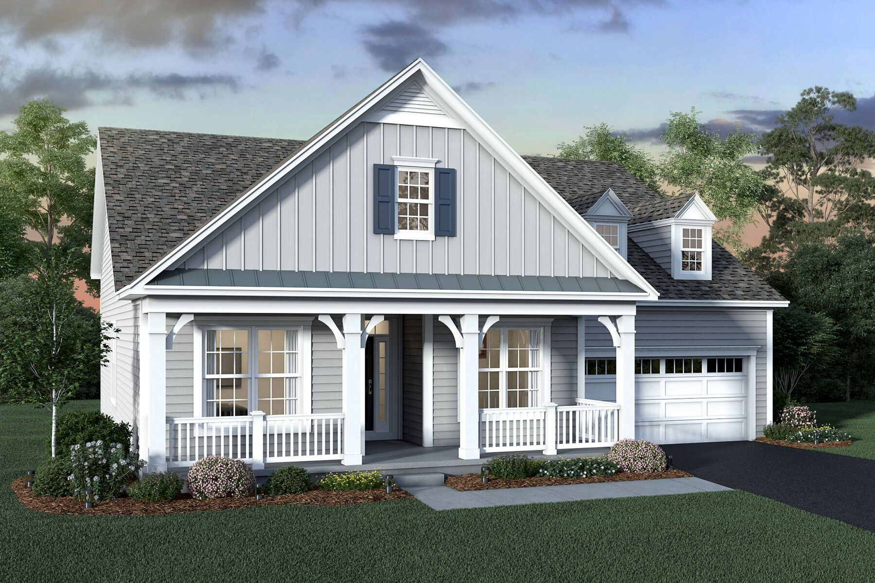Exterior featured in the Stafford By M/I Homes in Columbus, OH