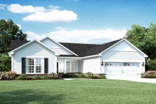 Clayton II Slab - Saddle Club South: Bargersville, Indiana - M/I Homes