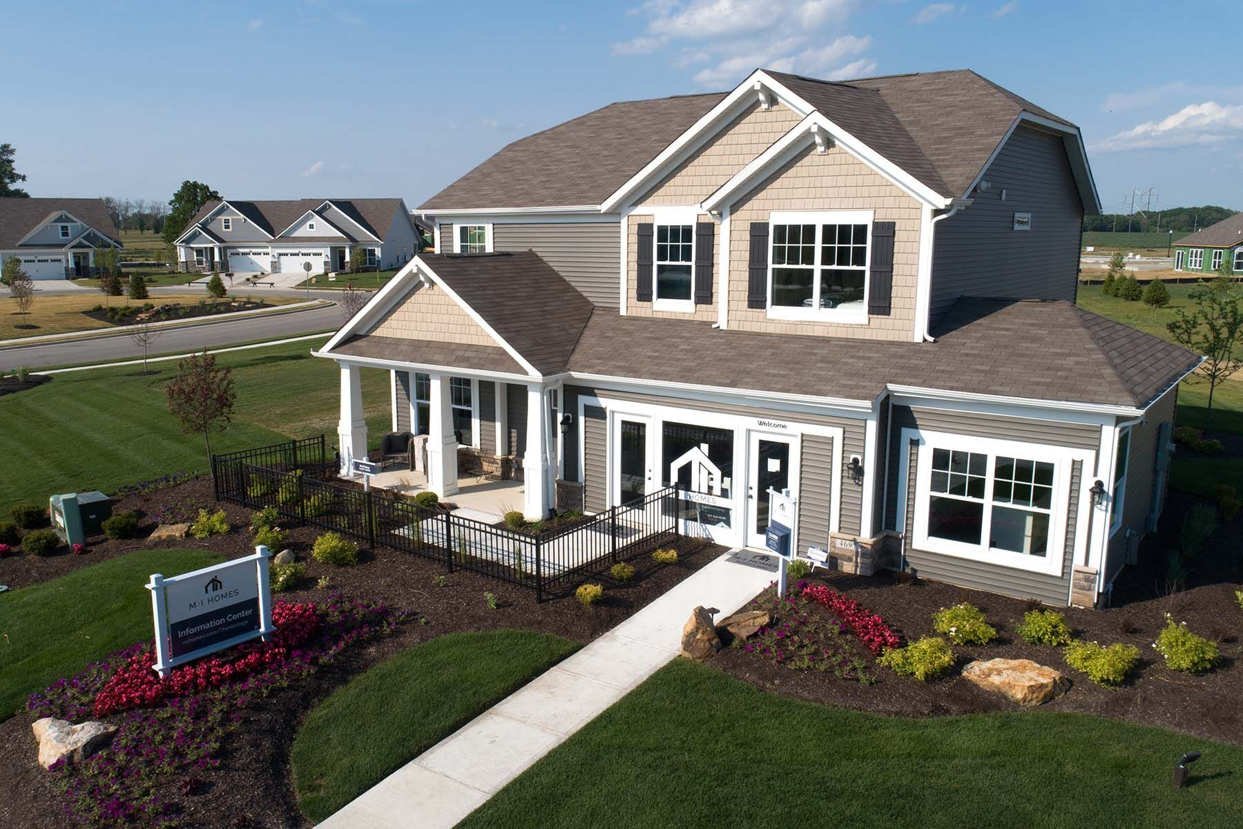 'The Heritage' by M/I Homes-Indianapolis in Indianapolis