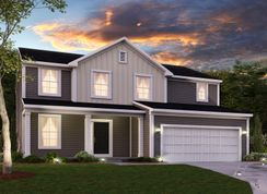 Armstrong Slab - Riley Meadows: Greenwood, Indiana - M/I Homes