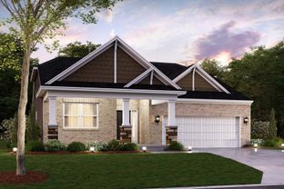 Mackey Slab - The Heritage: Whitestown, Indiana - M/I Homes