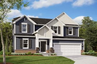 McKinley Slab - Tamarack: Cicero, Indiana - M/I Homes