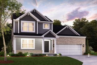 Woodworth Slab - Bethel Creek: Indianapolis, Indiana - M/I Homes