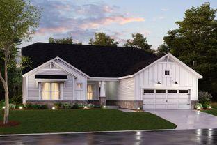 Kentmore  III Basement - Sagebrook: Indianapolis, Indiana - M/I Homes