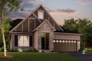 Olympic Slab - Legacy at Hunter's Run: Fishers, Indiana - M/I Homes