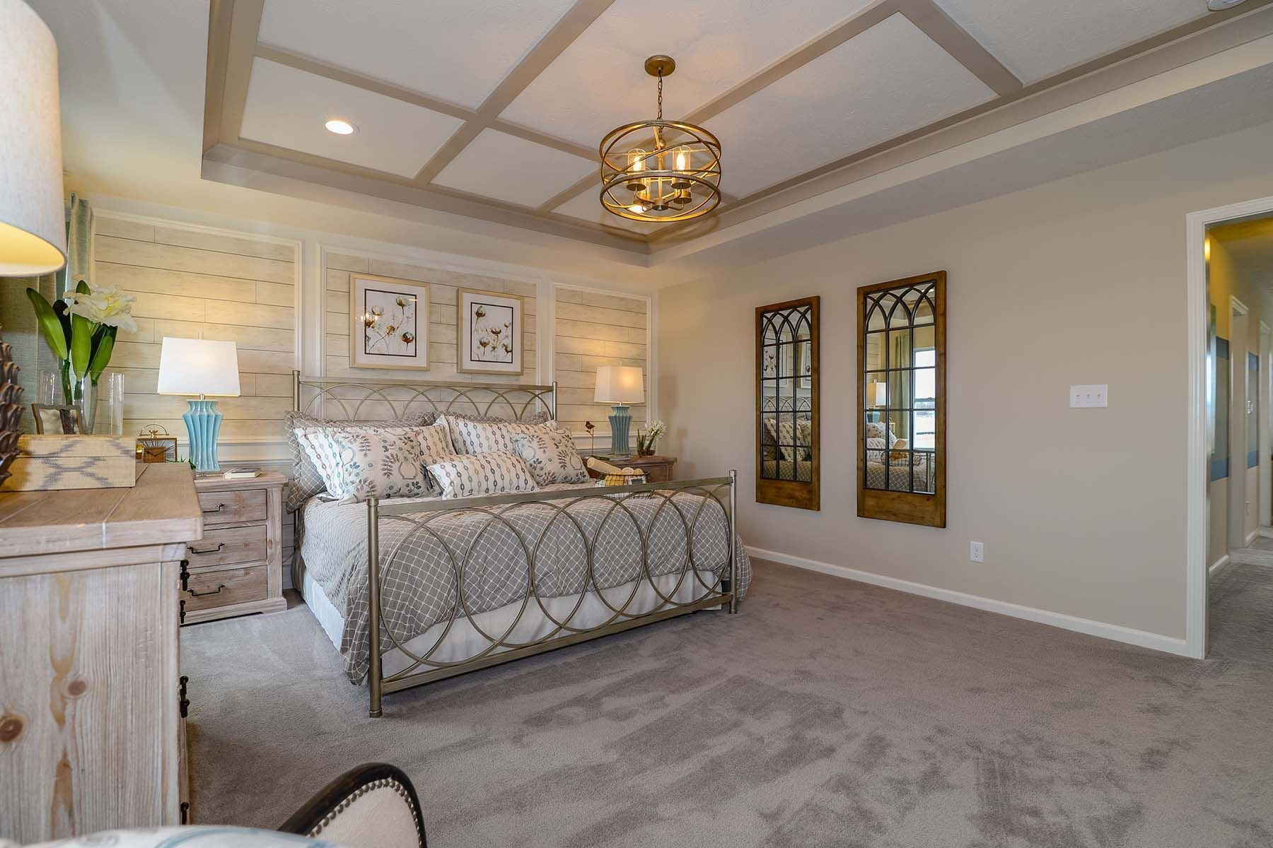 Bedroom featured in the Chauncey Slab By M/I Homes in Indianapolis, IN