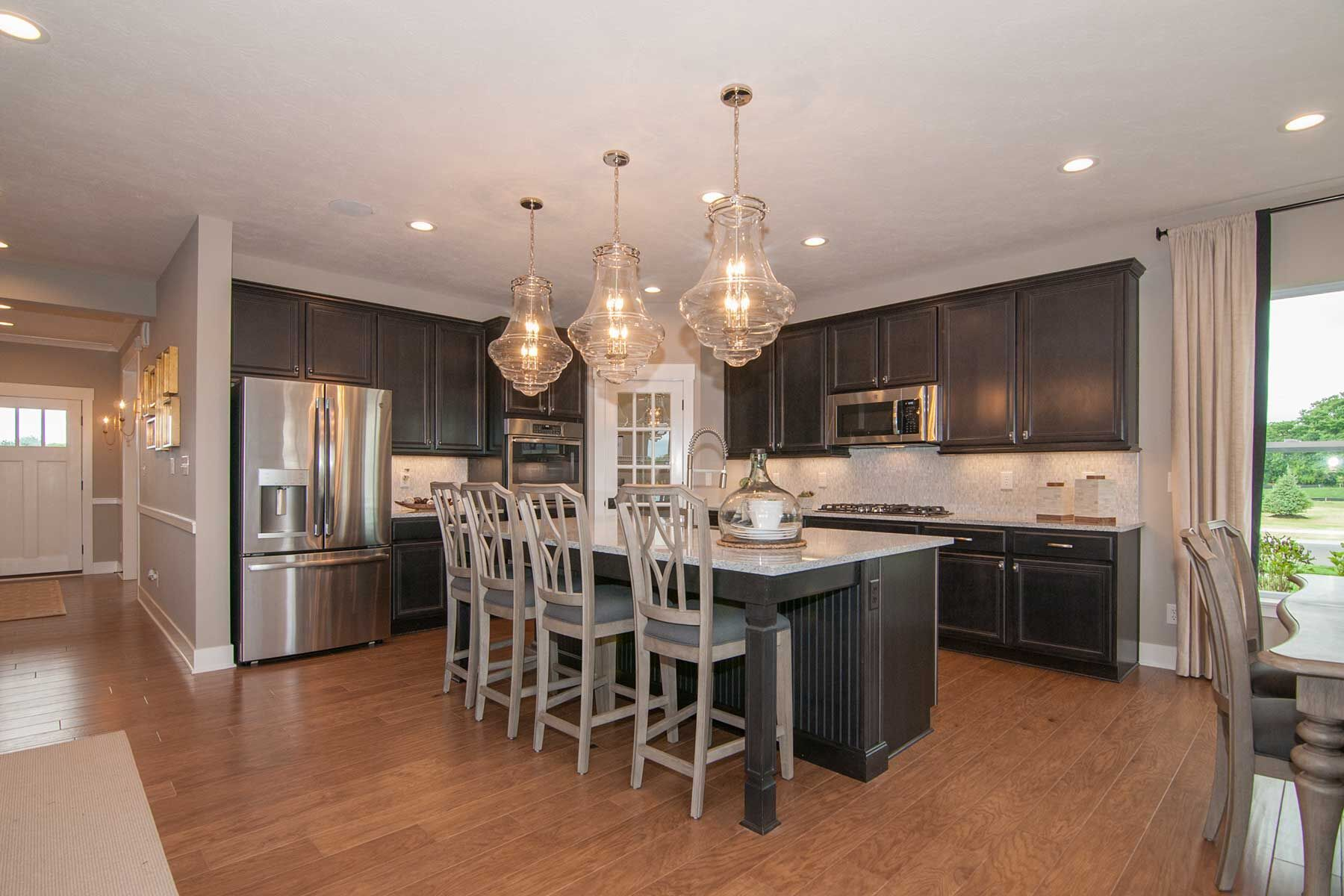Kitchen featured in the Cheswicke Slab By M/I Homes in Indianapolis, IN