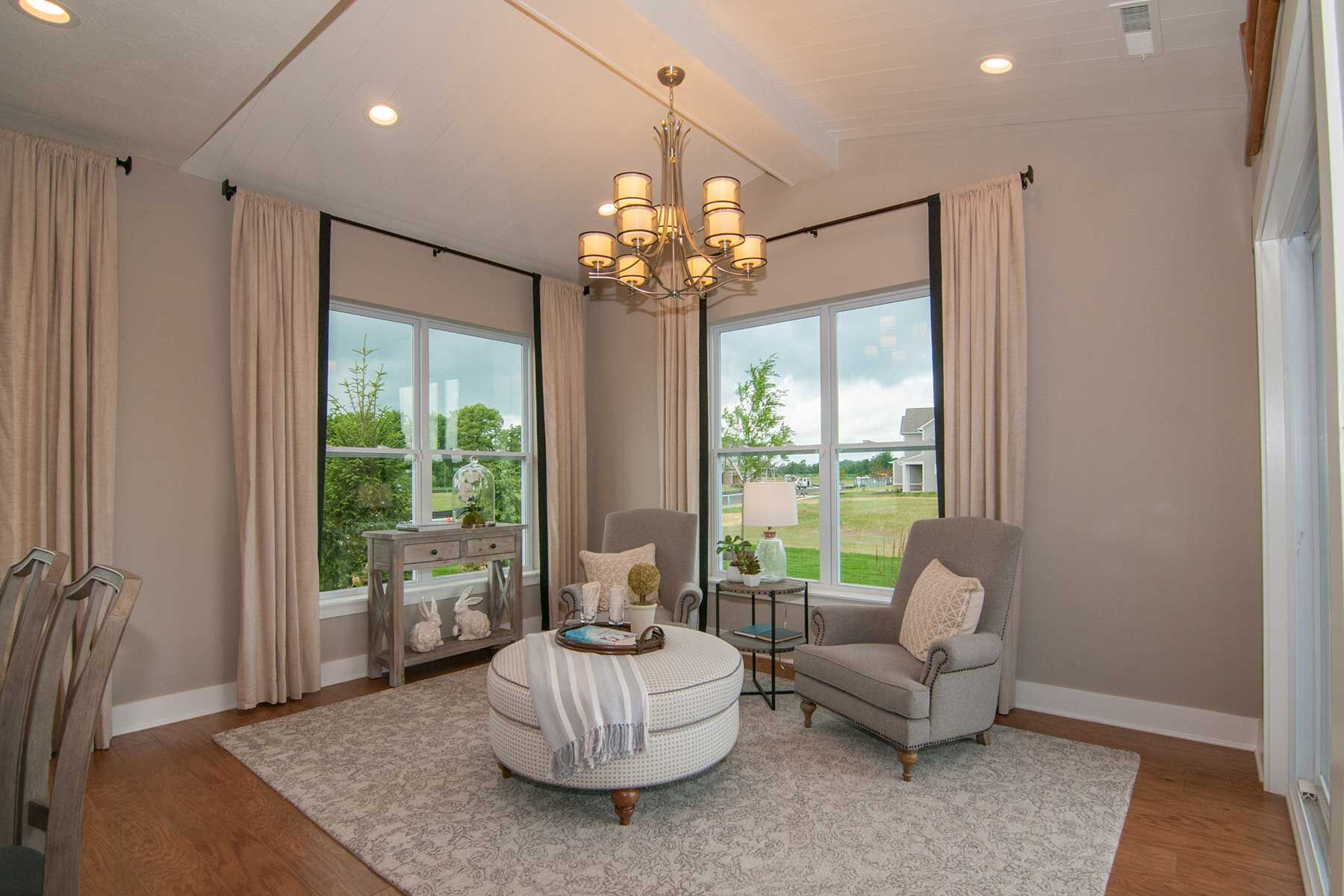 Living Area featured in the Cheswicke Slab By M/I Homes in Indianapolis, IN