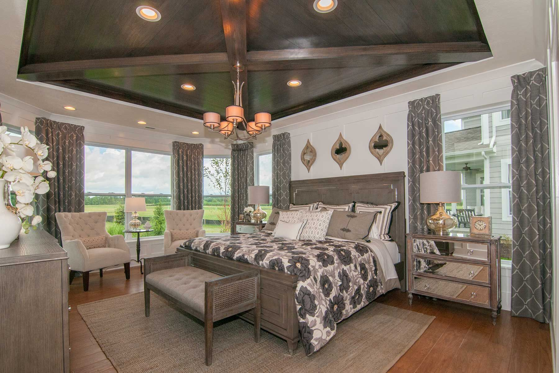 Bedroom featured in the Cheswicke Slab By M/I Homes in Indianapolis, IN