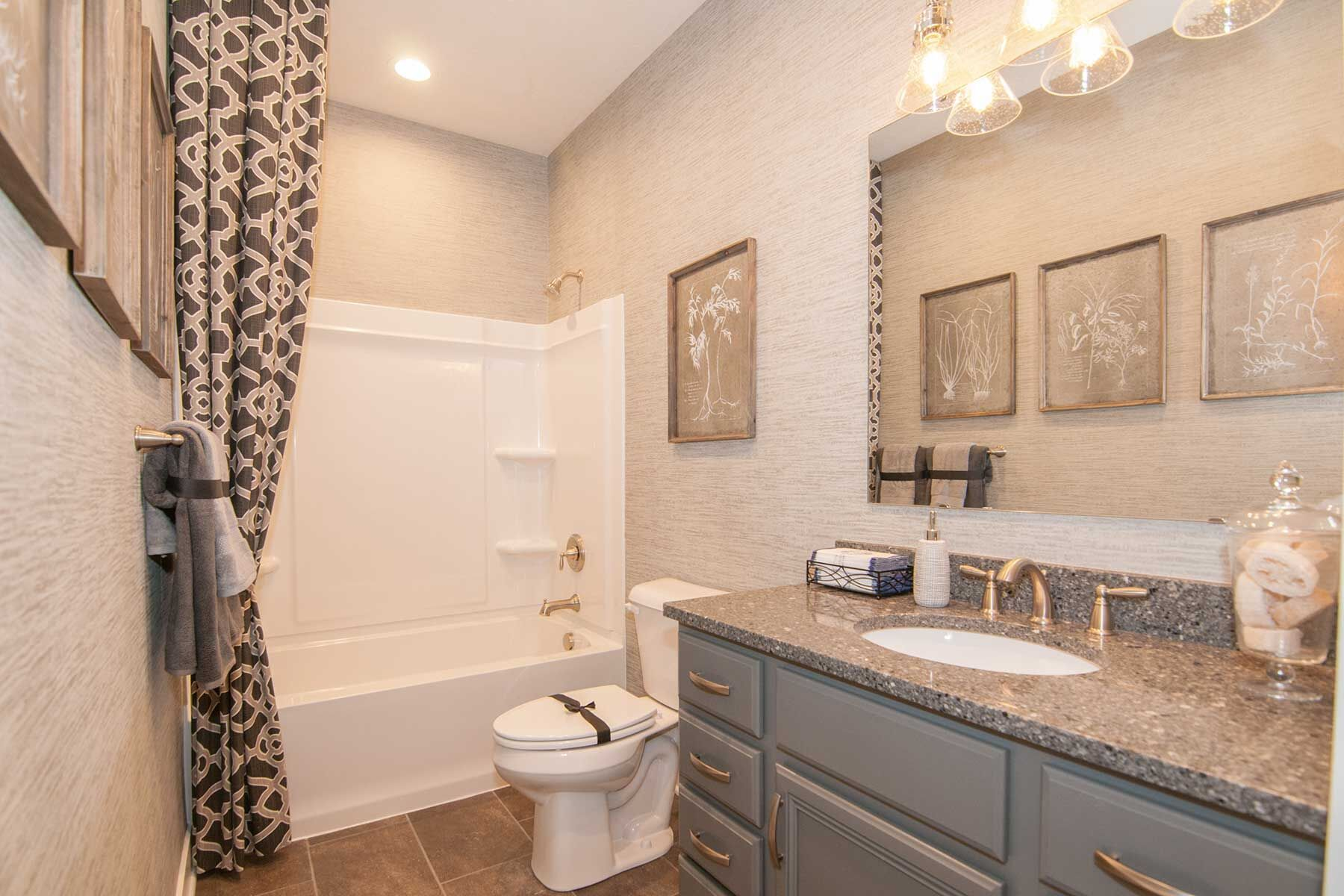 Bathroom featured in the Cheswicke Slab By M/I Homes in Indianapolis, IN