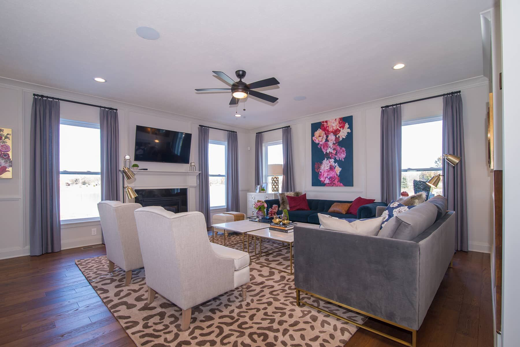 Living Area featured in the Glendale Basement By M/I Homes in Indianapolis, IN