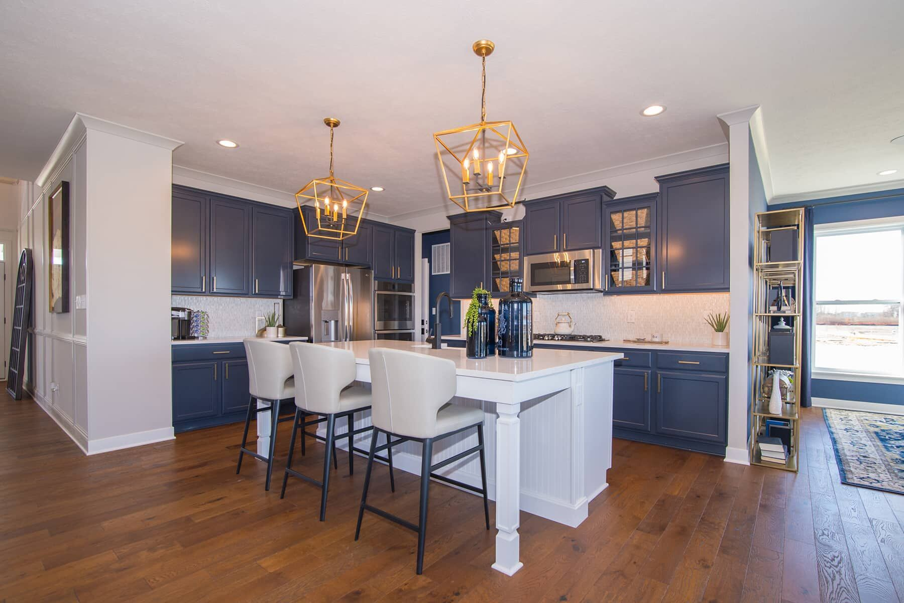 Kitchen featured in the Glendale Basement By M/I Homes in Indianapolis, IN
