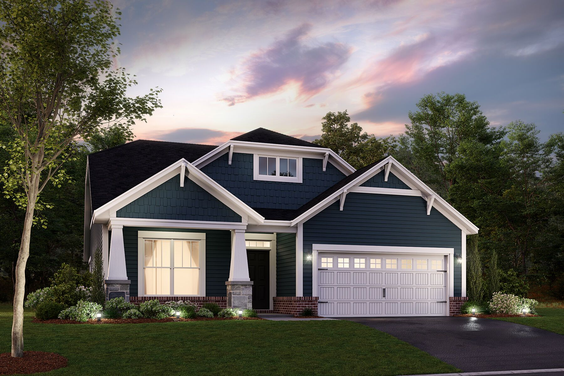 'Legacy at Hunter's Run' by M/I Homes-Indianapolis in Indianapolis