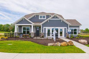 Cascade C Slab - Legacy at Hunter's Run: Fishers, Indiana - M/I Homes